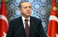 پیام تبریک اردوغان به مناسبت عید 19 می