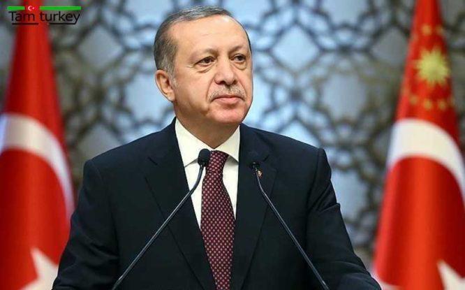 رجب طیب اردوغان : مقابله با کرونا نیازمند همبستگی و تلاش تک تک 83 میلیون نفر کشورمان است