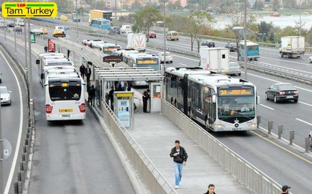 حمل و نقل درون شهری استانبول