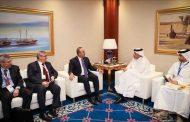 دیدار وزرای امور خارجه ترکیه و قطر خود در دوحه