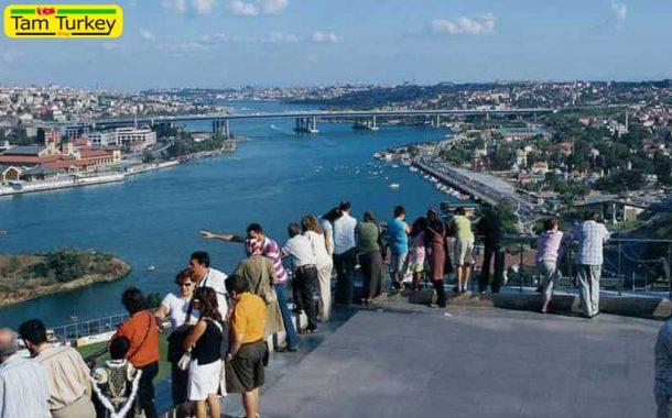 حضور ۱۳ میلیون گردشگر در استانبول
