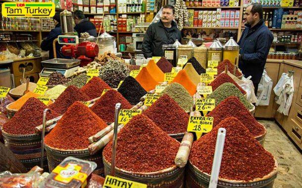 بازار ادویه استانبول یا بازار مصری ها