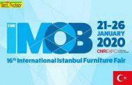 شانزدهمین نمایشگاه مبلمان استانبول (IMOB) ازتاریخ ۰۱ الی ۰۶ بهمن ماه