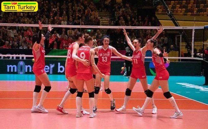 راهیابی تیم ملی والیبال ترکیه به المپیک توکیو