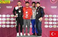 ترکیه در رده چهارم رقابتهای کشتی آزاد قهرمانی اروپا 2020