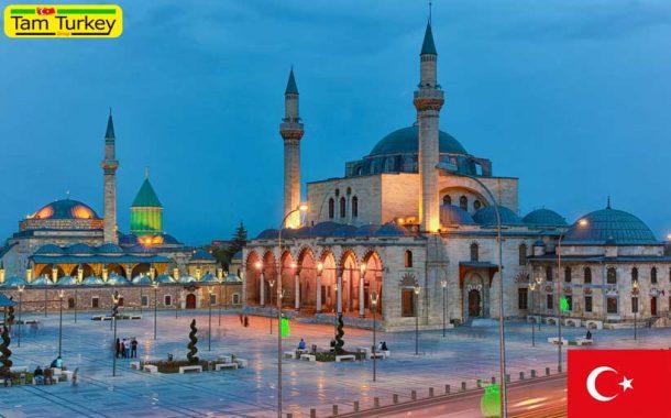 شکسته شدن رکورد شمار بازدیدکننده از موزه مولانا در شهر قونیه ترکیه