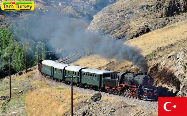 موزه لوکوموتیوهای زغالی در استان ازمیر ترکیه