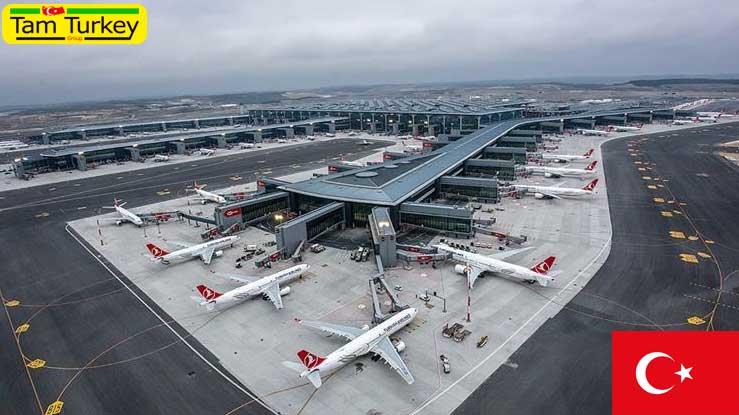 فرودگاه استانبول در فصل زمستان از 15 میلیون مسافر میزبانی کرد