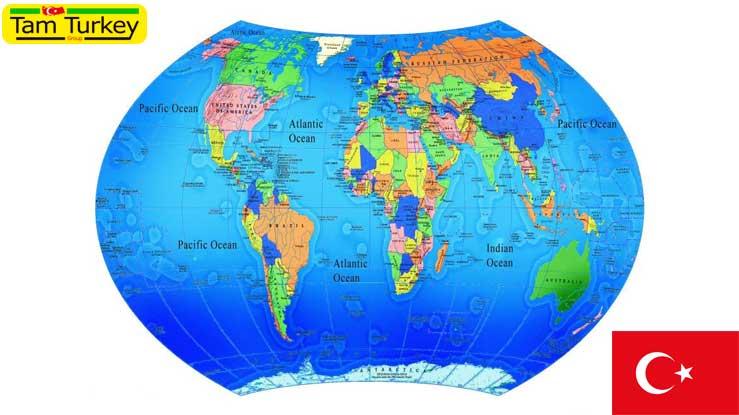 پیش شماره کشورها | کد کشورها