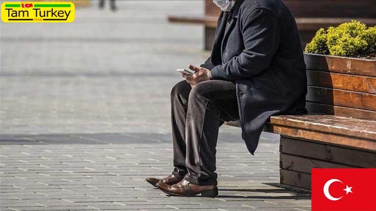 محدود شدن تردد افراد بالای 65 سال در ترکیه به دلیل کرونا