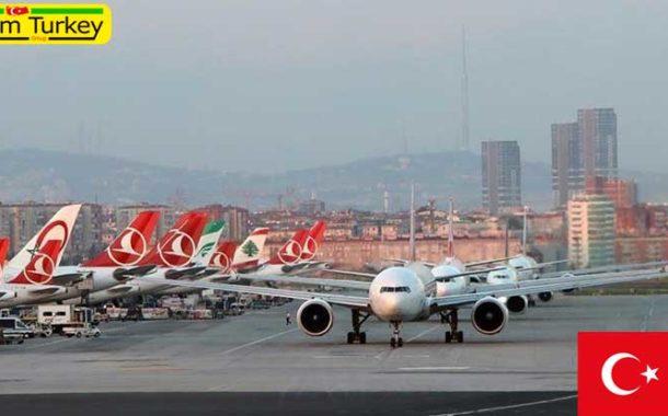 ترکیه برای مقابله با کرونا پروازها به 46 کشور دیگر را متوقف کرد