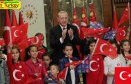 اردوغان: 23 آوریل، مهمترین نماد دموکراسی و حاکمیت ملی است