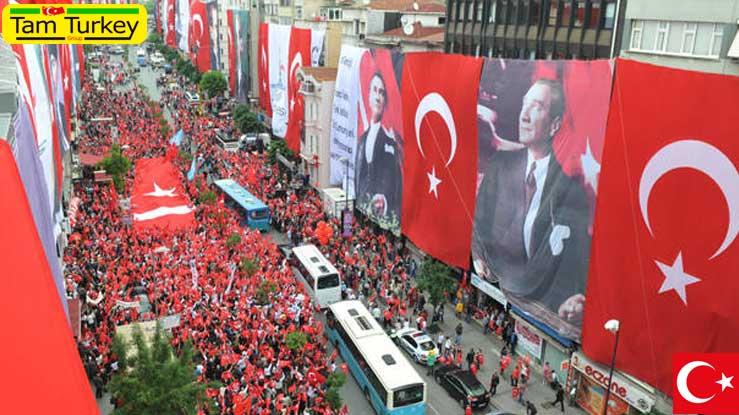 ۱۹ می روز گرامیداشت یاد آتاترک و عید جوانان و ورزش