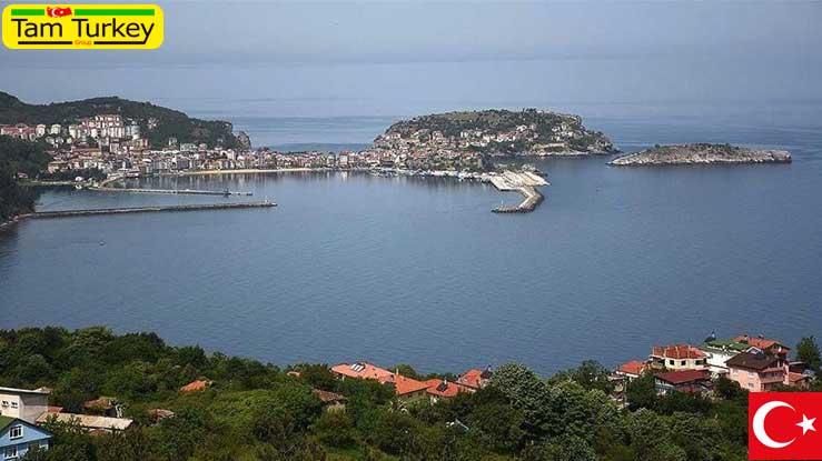 آماسرا شهر تاریخی و توریستی منطقه دریای سیاه ترکیه