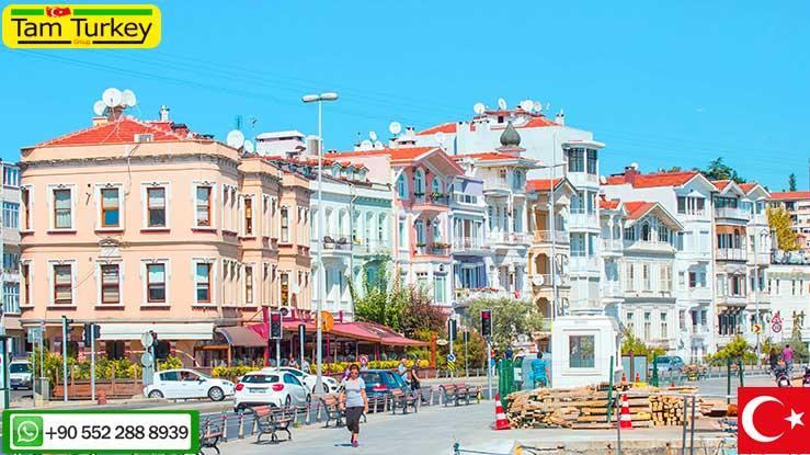مناطق لوکس استانبول کجا هستند؟