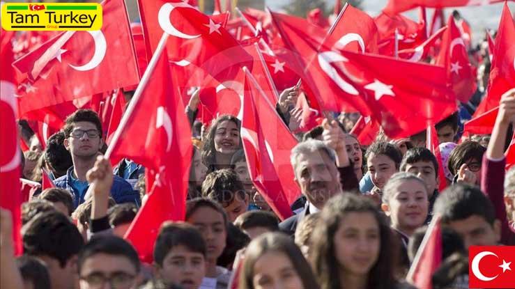 رفتارها و شیوههای برقراری ارتباط اجتماعی خاص ترکها