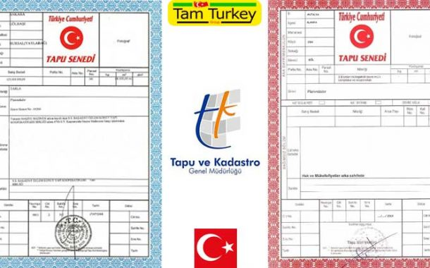 تاپو سند رسمی مالکیت ملک در ترکیه