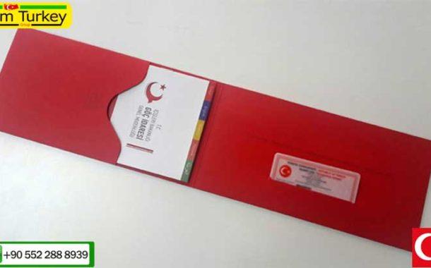 مدارک ارسالی از طریق پست جهت اقامت ترکیه