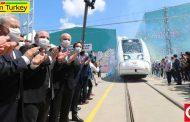 آزمایش قطارهای برقی ملی ترکیه در ساکاریا