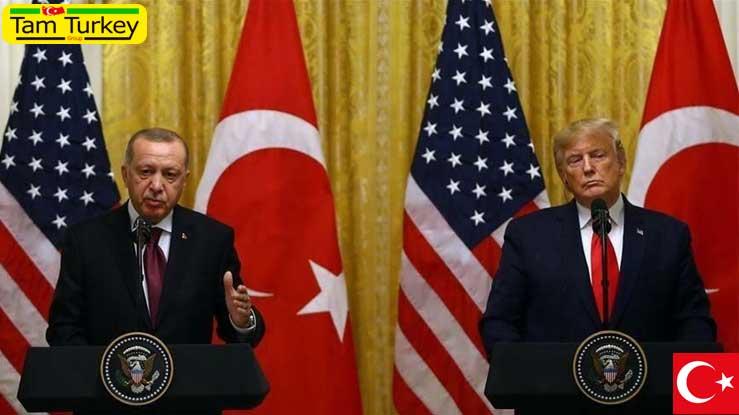 اردوغان و ترامپ تلفنی گفتوگو کردند