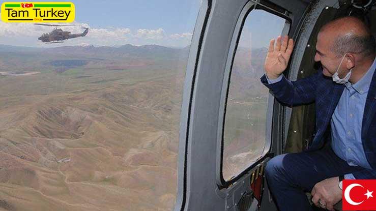 سخنان وزیر کشور ترکیه در مرز ایران