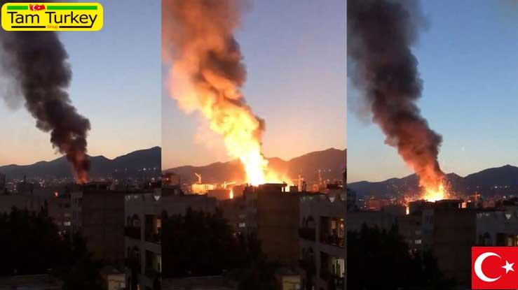 وقوع انفجار و آتش سوزی در یک بیمارستان در تهران