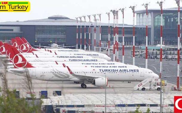 اعلامیه شرکت هواپیمایی ترکیه در مورد برنامه جدید پروازهای بینالمللی