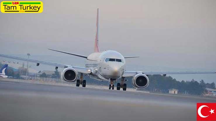 آمار تعداد هواپیما، مسافر و بار فرودگاههای ترکیه در ماه ژوئن