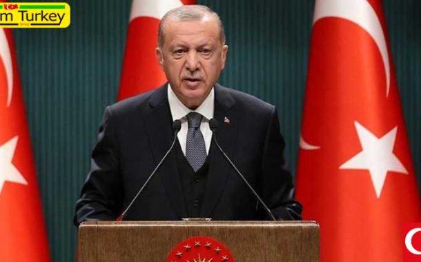 پیام تبریک رئیس جمهور ترکیه به مناسبت عید جمهوریت