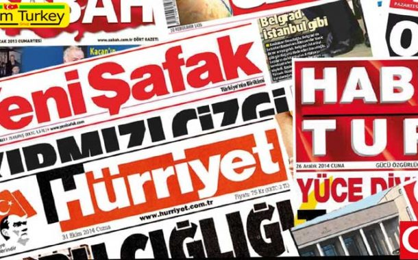 مطبوعات ترکیه 11 آگوست 2020