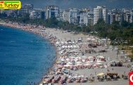 حضور گسترده گردشگران خارجی در آنتالیا