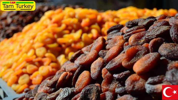 صادرات برگه زردآلو از مالاتیا به 115 کشور جهان