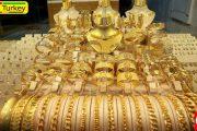 صادرات جواهرات ترکیه در 7 ماه اول سال 3.3 میلیارد دلار شد