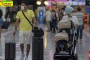 میزبانی فرودگاه آنتالیا از نزدیک به دو و نیم میلیون مسافر