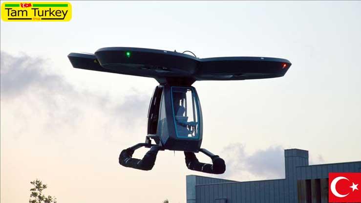 معرفی اولین خودروی پرنده ترکیه در جشنواره تکنوفست 2020