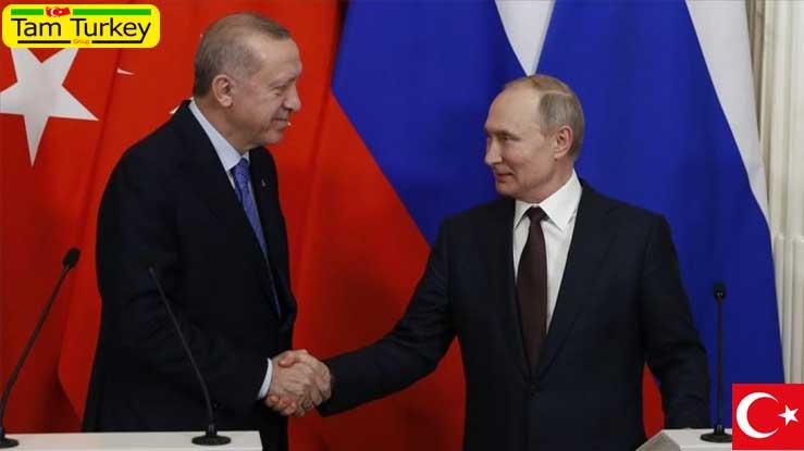 گفتگوی تلفنی اردوغان و پوتین در مورد آذربایجان-ارمنستان، سوریه و لیبی