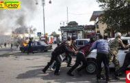 حمله موشکی ارمنستان به شهر برده آذربایجان 21 کشته و 70 زخمی برجای گذاشت