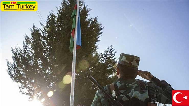 ارتش آذربایجان در حال استقرار در استان آغدام است