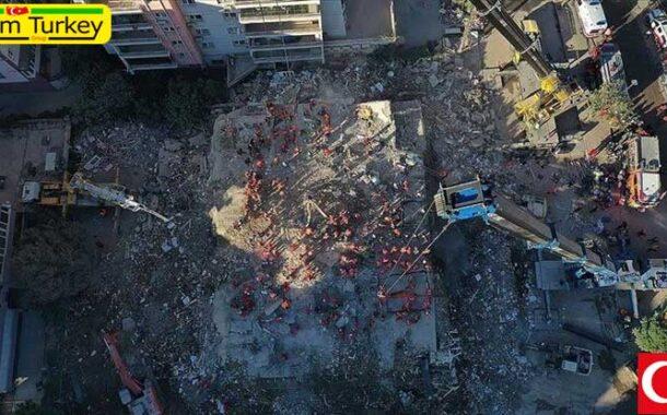 شمار قربانیان زلزله ازمیر به 62 نفر افزایش یافت