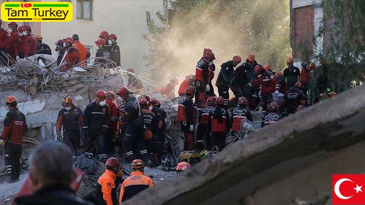 شمار قربانیان زلزله ازمیر به 85 نفر افزایش یافت