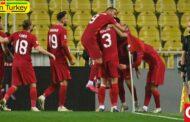 تیم ملی فوتبال ترکیه، تیم ملی روسیه را با نتیجه 3-2 شکست داد