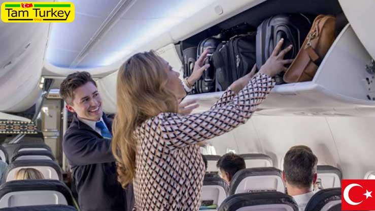 لغو ممنوعیت ورود چمدان به کابین هواپیما در ترکیه