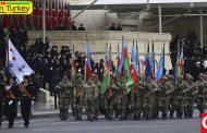 برگزاری مراسم رژه نظامی به مناسبت پیروزی آذربایجان در جنگ آزادسازی قرهباغ