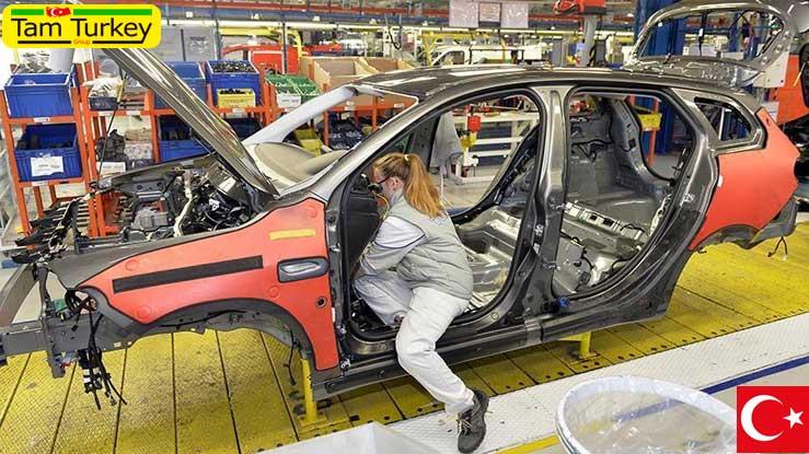 صادرات 73 خودرو در هر ساعت از شهر بورسای ترکیه