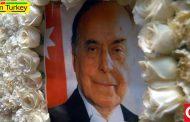 گرامیداشت هفدهمین سالگرد درگذشت حیدر علیاف در باکو