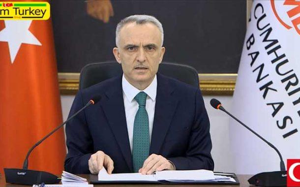 اعلام اهداف نرخ ارز و تورم از سوی رئیس بانک مرکزی ترکیه