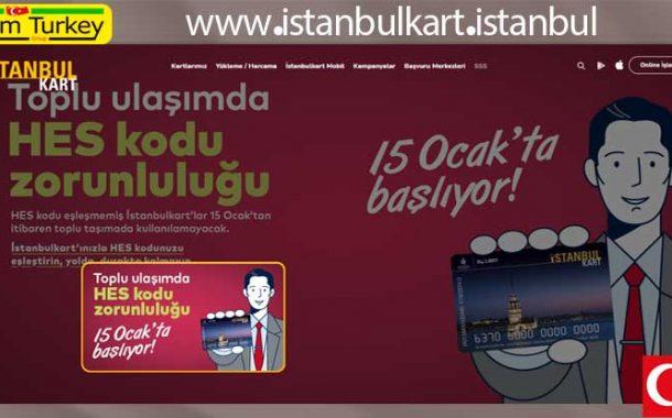 HES kodunu 2021 İstanbulkart'a ekleyin ve eşleştirin
