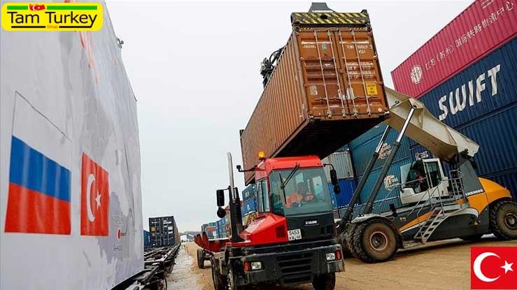 حجم تجارت ریلی بین ترکیه و روسیه افزایش مییابد