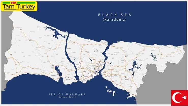 نتایج بررسی کانال استانبول در 12 شهر