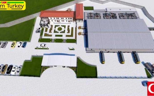 ساخت بزرگترین بازار حیوانات مدرن در منطقه در Boyabat پایان یافت